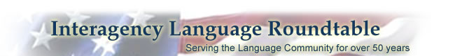 Interagency Language Roundtable